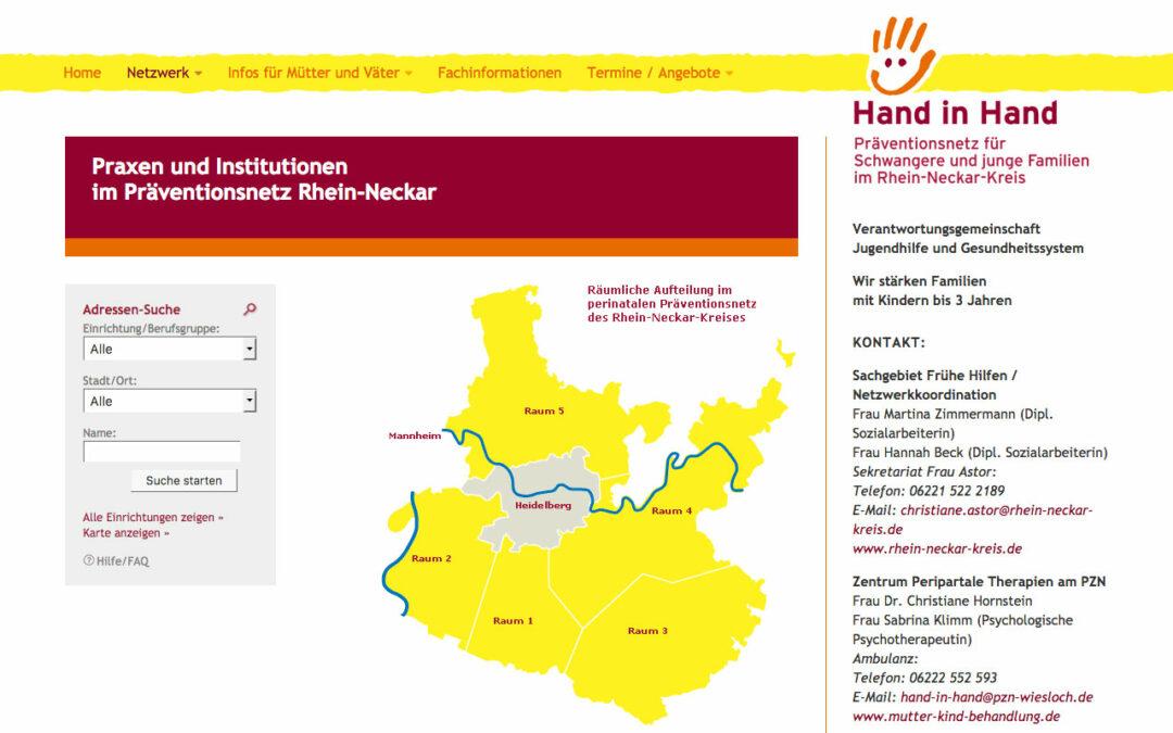 Anspruchsvolle Homepage Relaunch mit kommunizierenden iFrames
