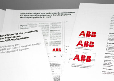 Corporate Design Pflege, ABB