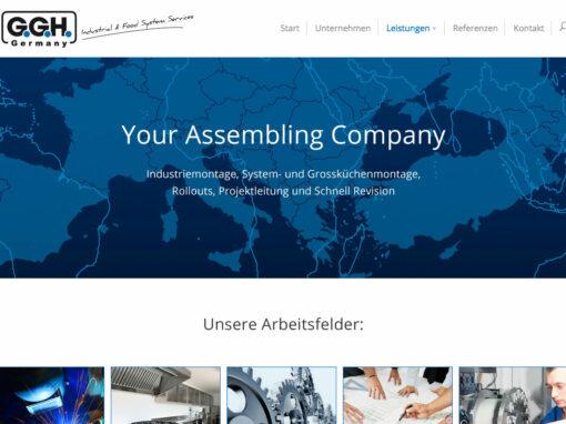 G.G.H. Projekte, Homepage