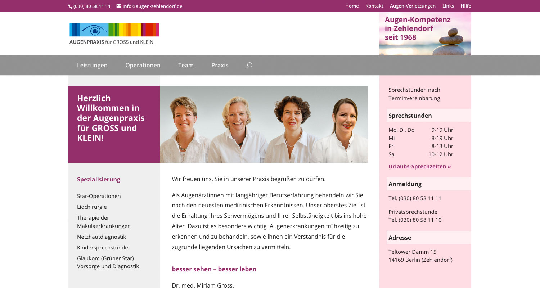 Webdesign der Webagentur infarbe Mannheim