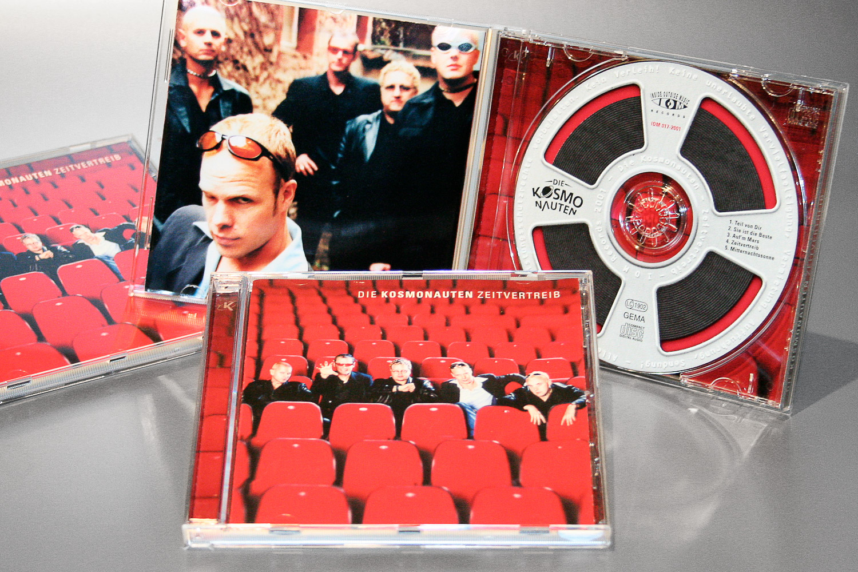 """Musik CD der """"Kosmonauten"""", Marketing"""