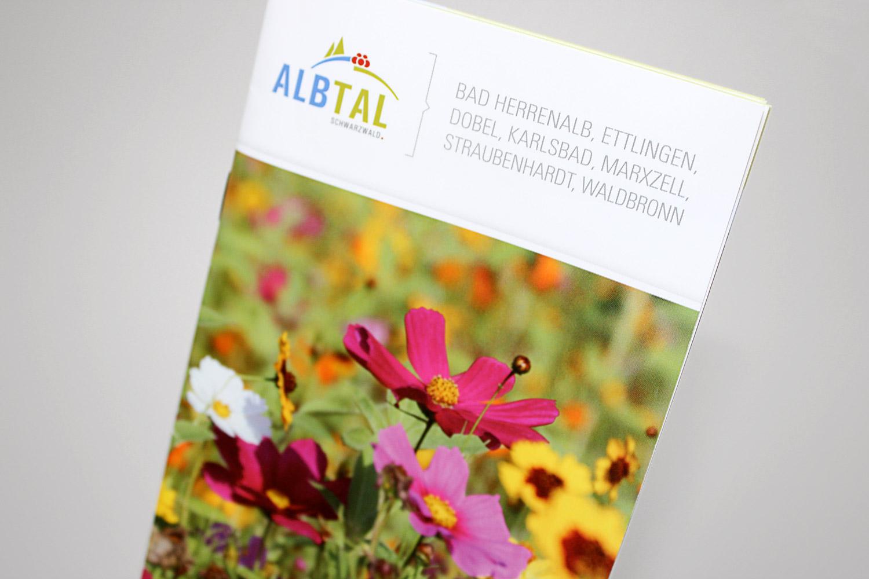 Broschüre Blühendes Albtal