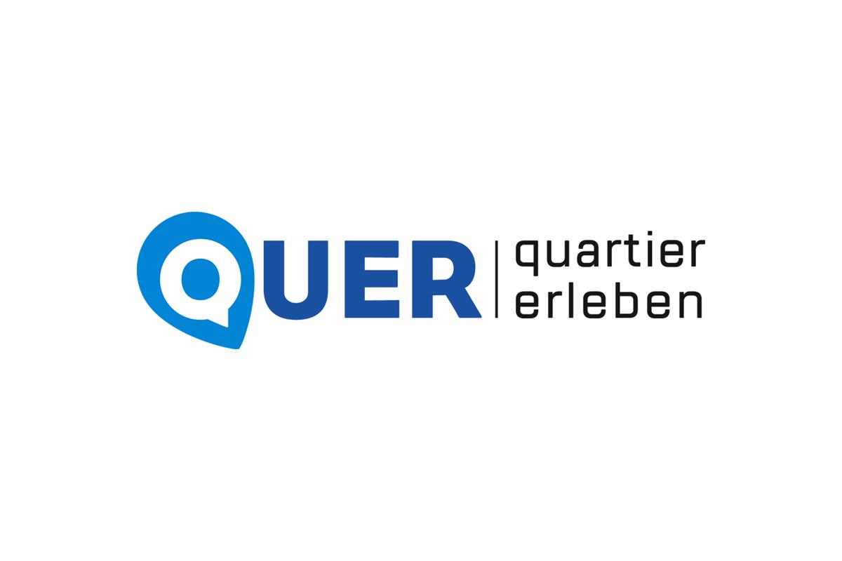 """Logo """"Quer – Quartier erleben"""""""