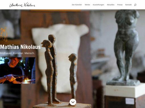 Bildhauer Nikolaus, Webseite