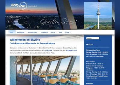 Drehrestaurant Skyline, Webseite