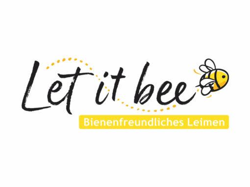 """""""Bienenfreundliches Leimen"""", Key-Visual"""